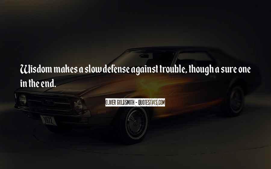 Oliver Goldsmith Quotes #1672501