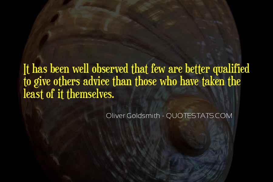 Oliver Goldsmith Quotes #1776836
