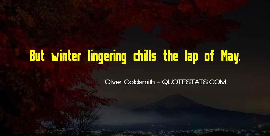 Oliver Goldsmith Quotes #1791900