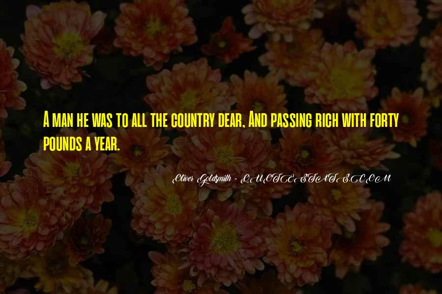 Oliver Goldsmith Quotes #1817952