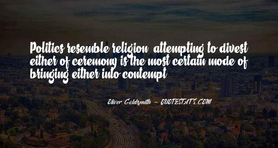 Oliver Goldsmith Quotes #1845015