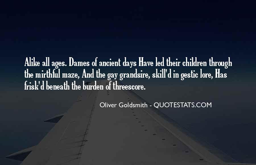 Oliver Goldsmith Quotes #1872977