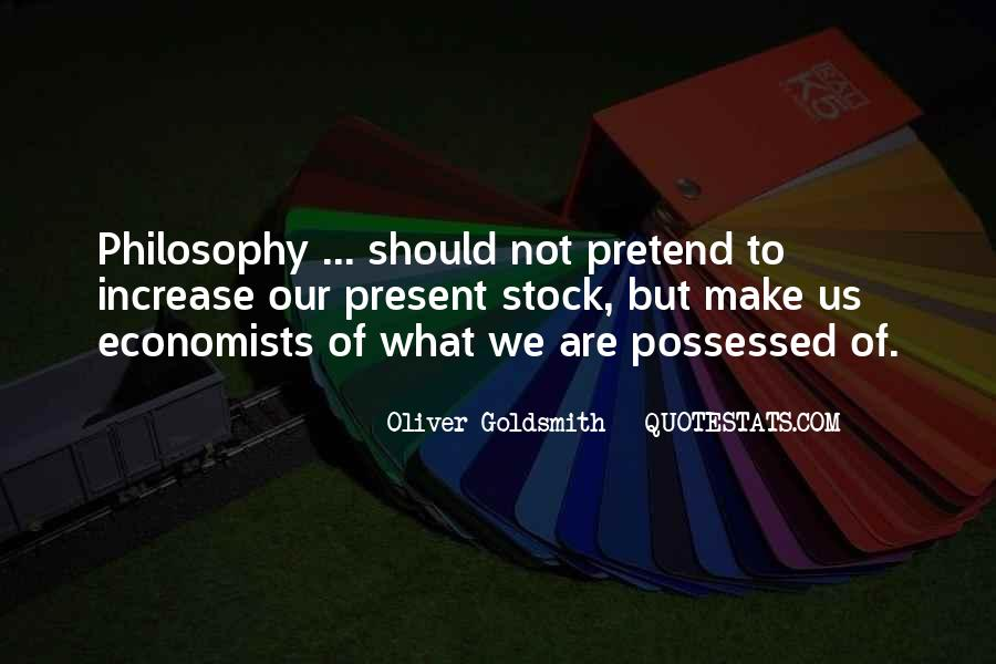 Oliver Goldsmith Quotes #247743