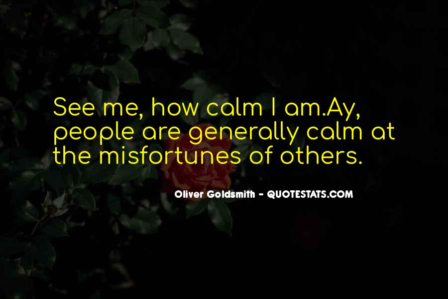 Oliver Goldsmith Quotes #39820