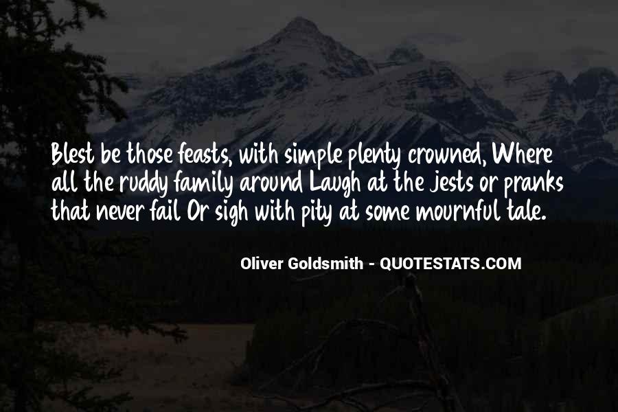 Oliver Goldsmith Quotes #477821