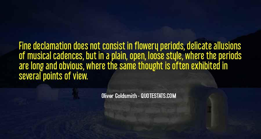 Oliver Goldsmith Quotes #660354