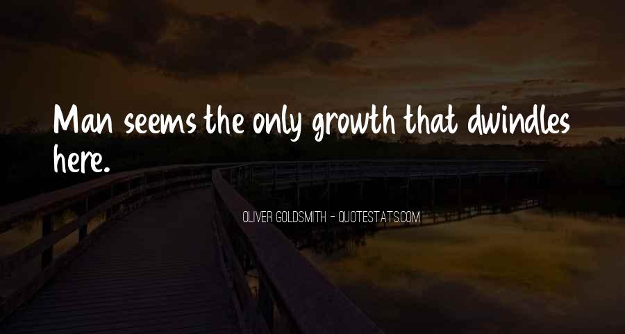 Oliver Goldsmith Quotes #661789