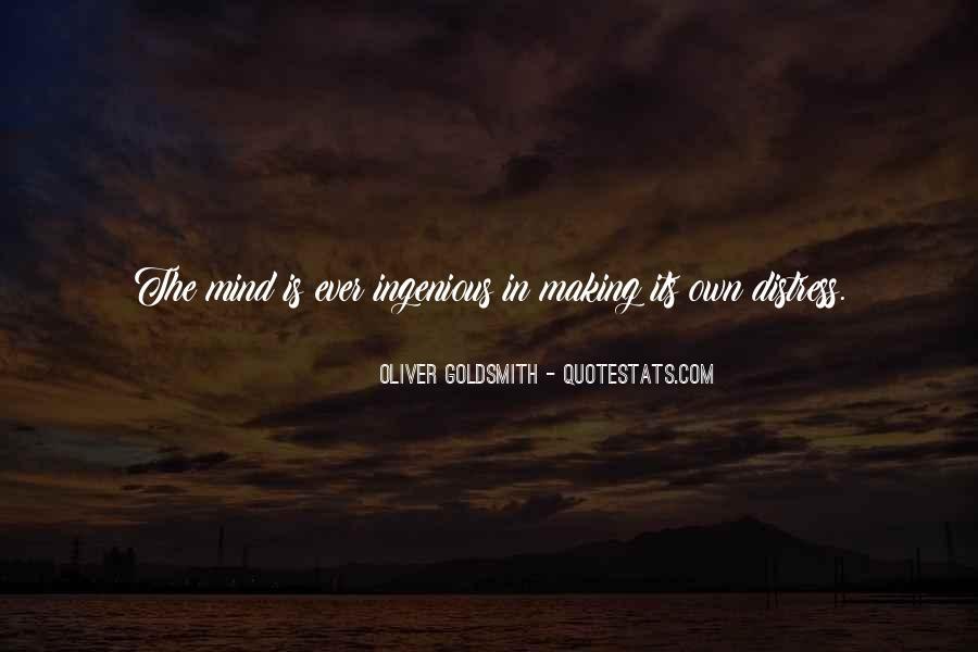 Oliver Goldsmith Quotes #734723