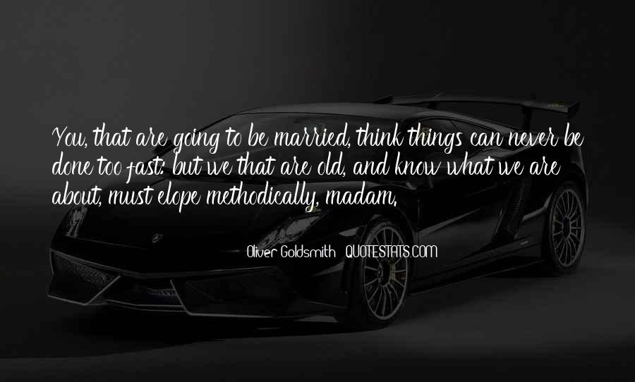 Oliver Goldsmith Quotes #761395
