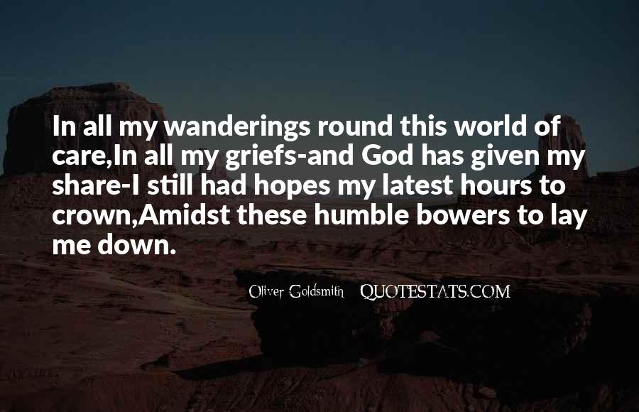 Oliver Goldsmith Quotes #868853