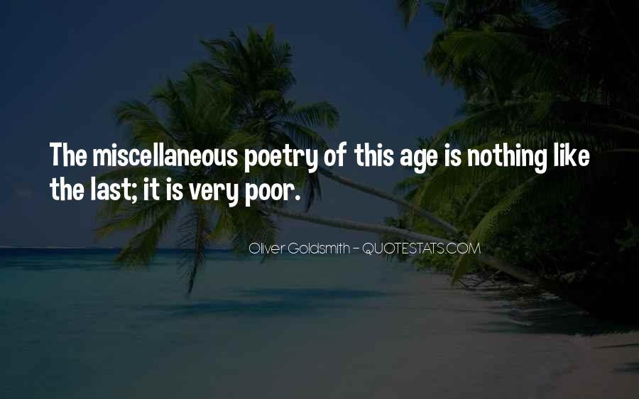 Oliver Goldsmith Quotes #870959