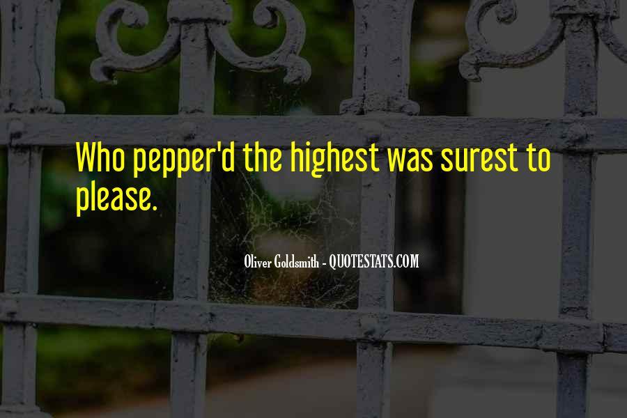 Oliver Goldsmith Quotes #99790