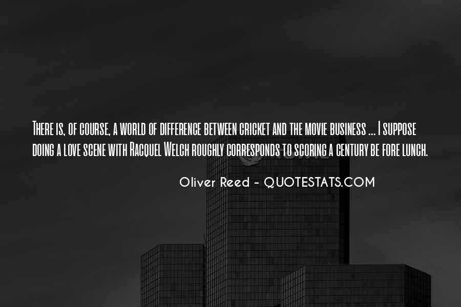 Oliver Reed Quotes #11814
