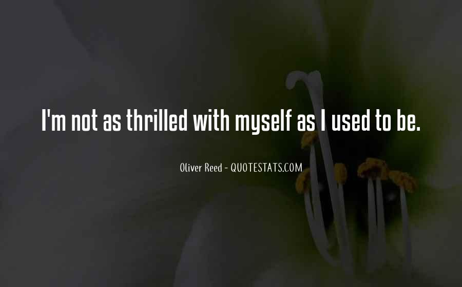 Oliver Reed Quotes #1695036