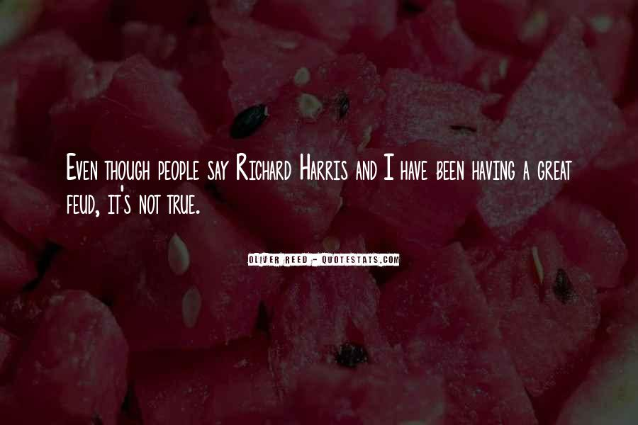 Oliver Reed Quotes #274536