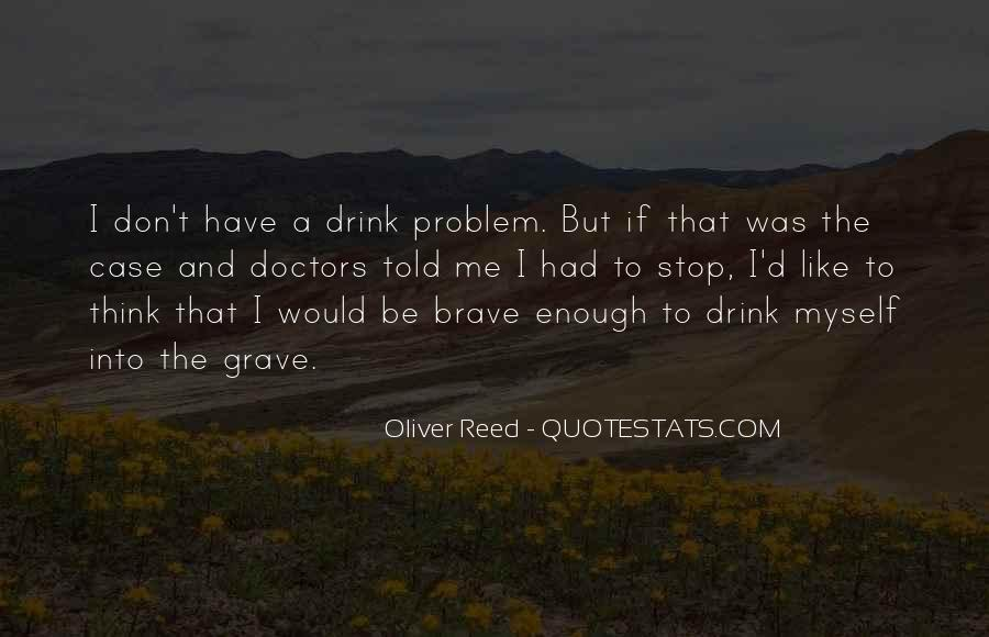 Oliver Reed Quotes #828006