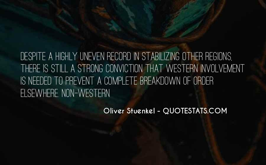 Oliver Stuenkel Quotes #907147