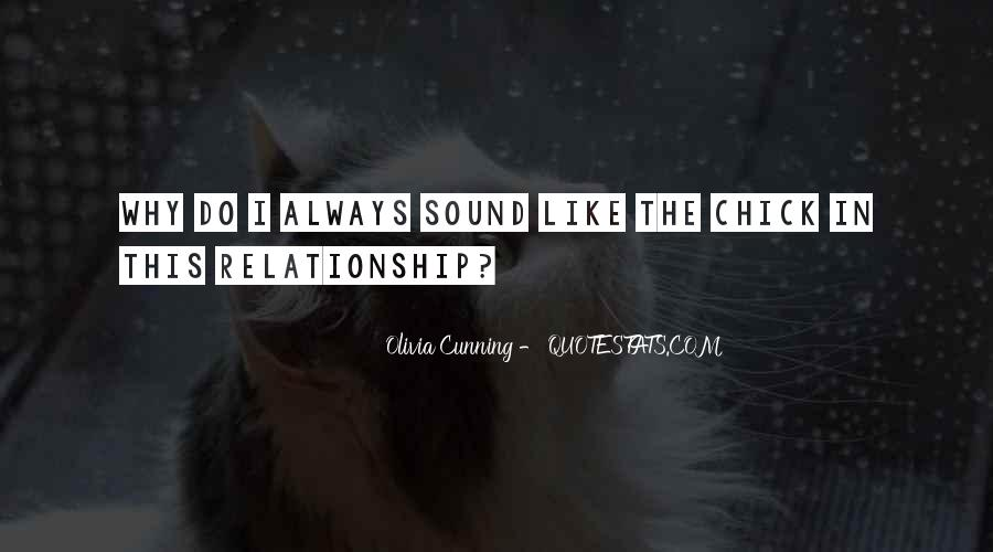 Olivia Cunning Quotes #1025955