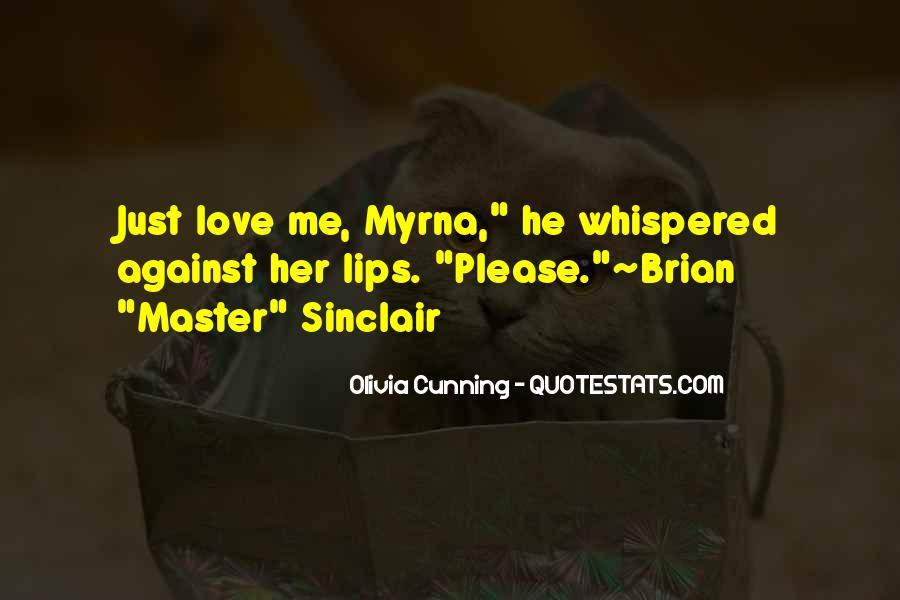 Olivia Cunning Quotes #1240598