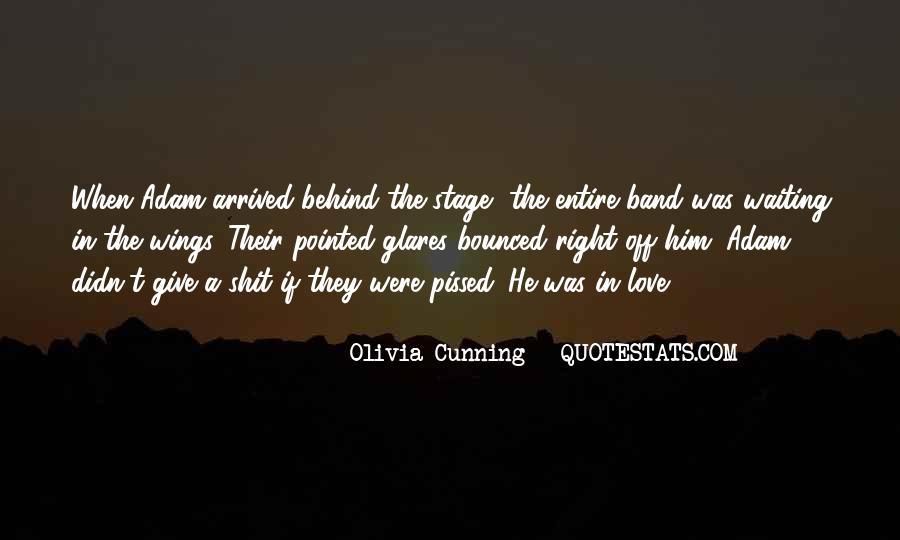 Olivia Cunning Quotes #1361275
