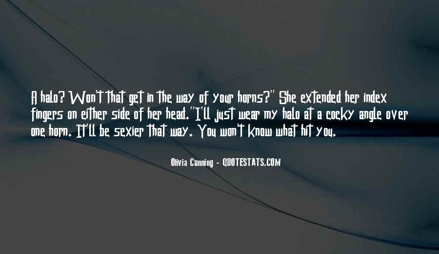 Olivia Cunning Quotes #1416291