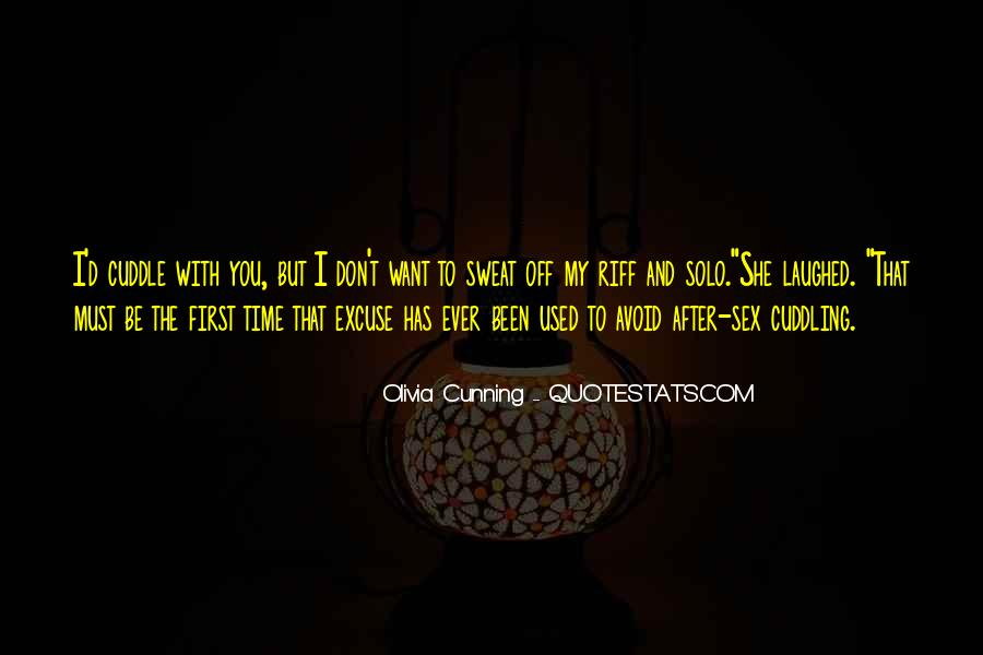 Olivia Cunning Quotes #1488678