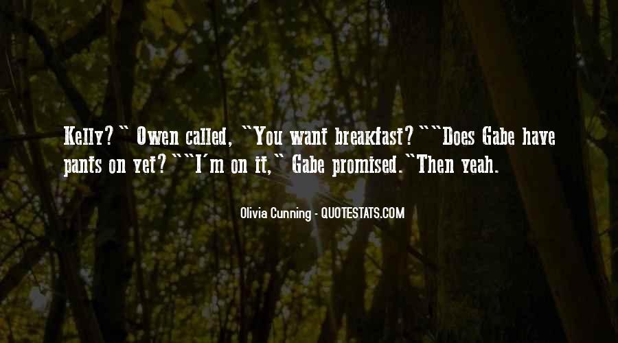 Olivia Cunning Quotes #1531779