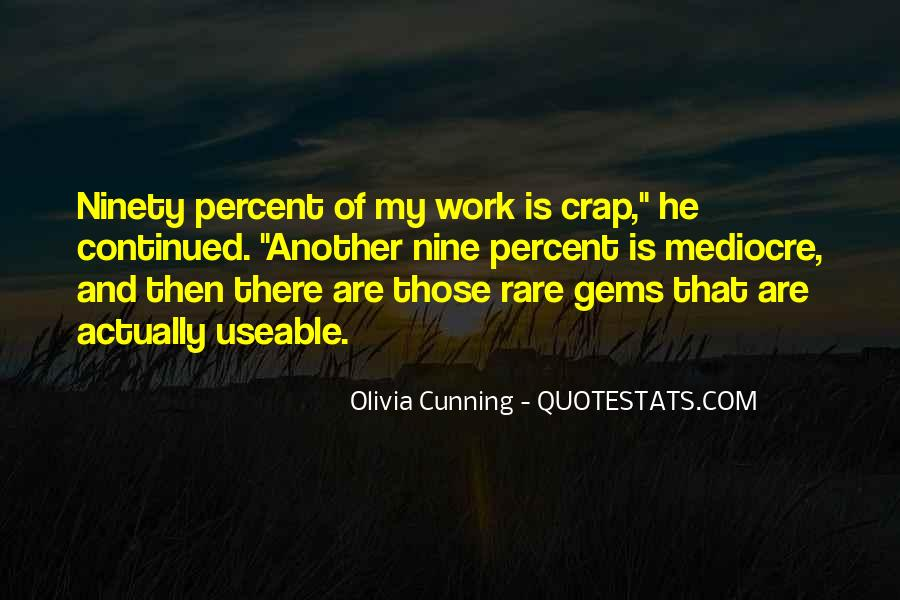 Olivia Cunning Quotes #166418