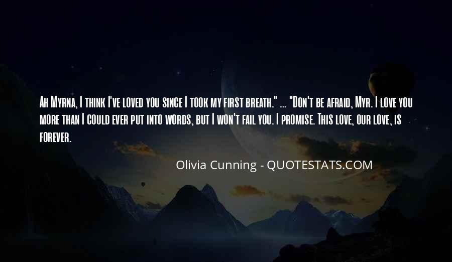 Olivia Cunning Quotes #1790993