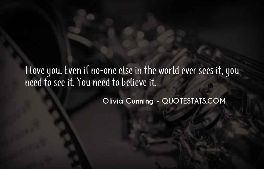 Olivia Cunning Quotes #1791997