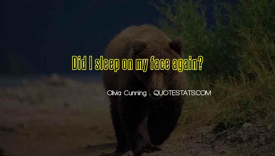 Olivia Cunning Quotes #1796410