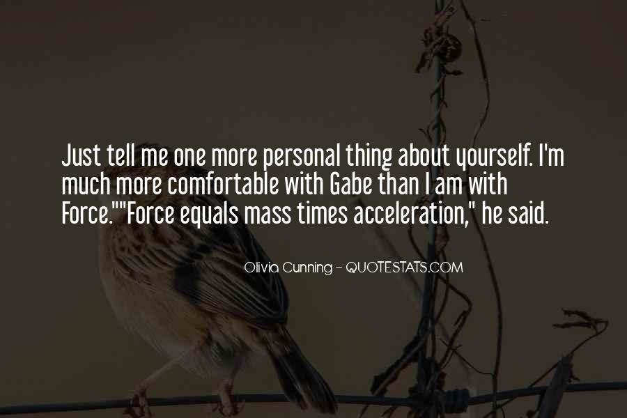 Olivia Cunning Quotes #647733