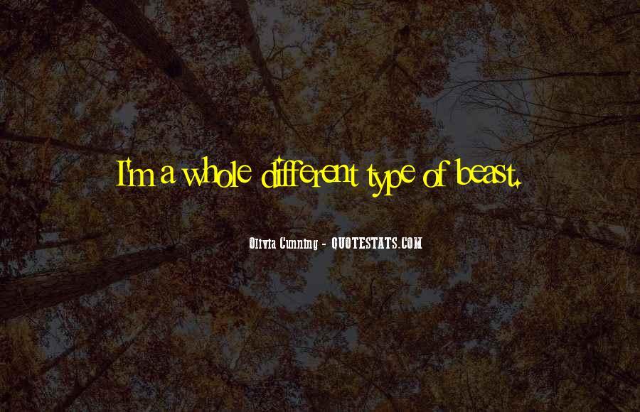 Olivia Cunning Quotes #921058