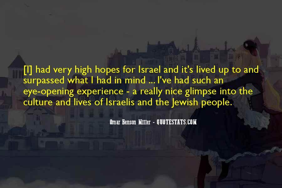 Omar Benson Miller Quotes #655736