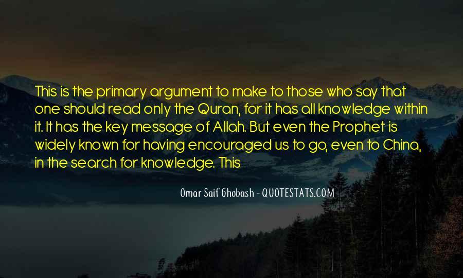 Omar Saif Ghobash Quotes #470512