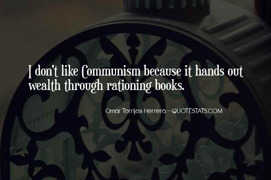 Omar Torrijos Herrera Quotes #580298