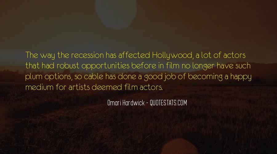 Omari Hardwick Quotes #1254658