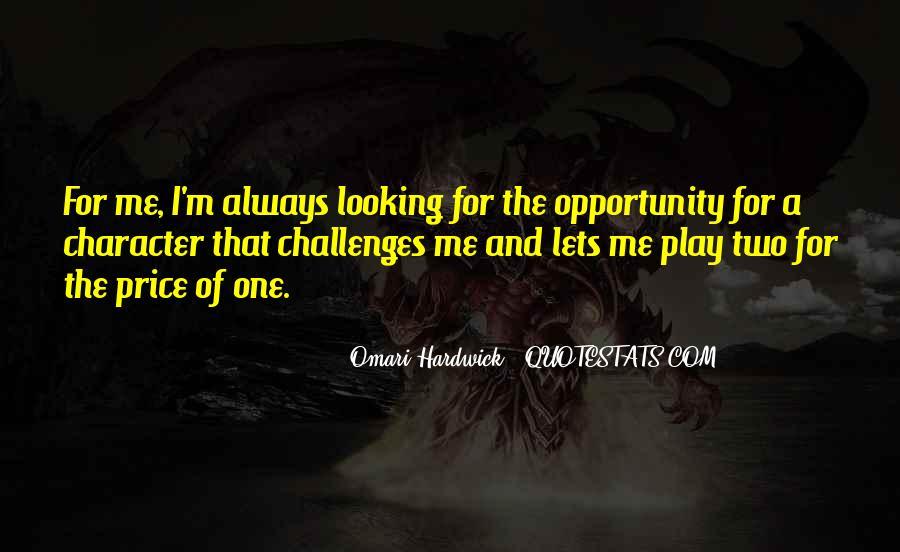 Omari Hardwick Quotes #1836958