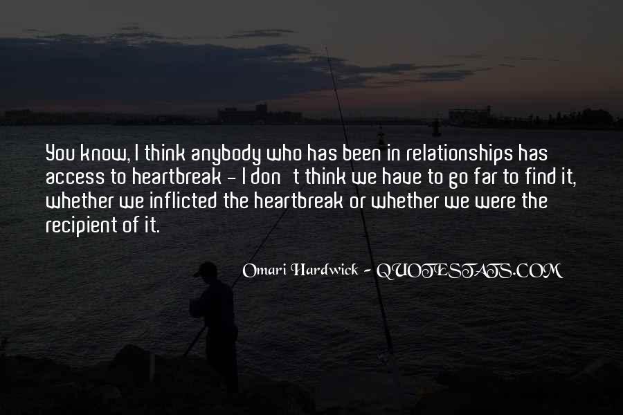 Omari Hardwick Quotes #537155