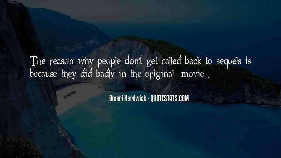Omari Hardwick Quotes #574871