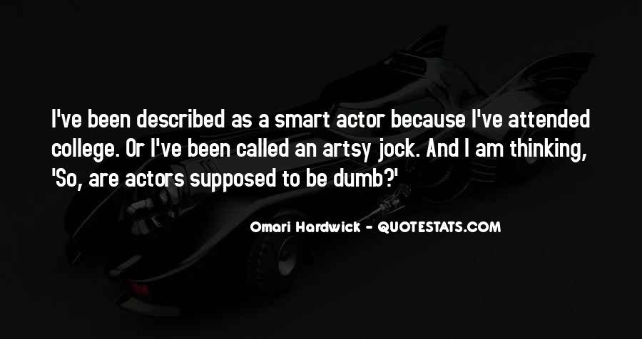 Omari Hardwick Quotes #877049