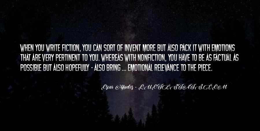 Oscar Hijuelos Quotes #1565034