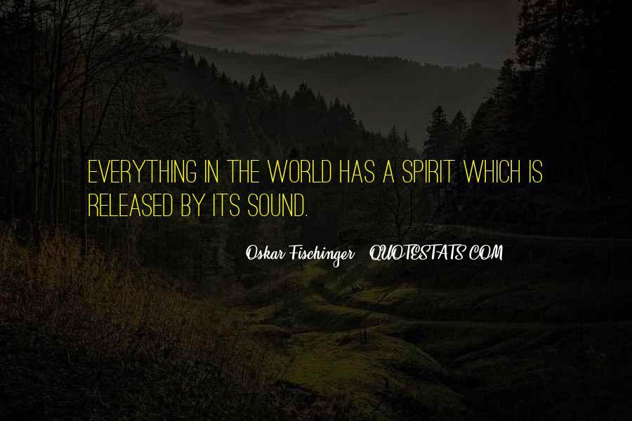 Oskar Fischinger Quotes #159371