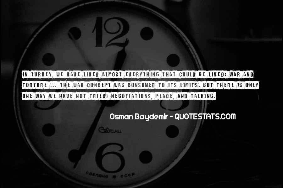 Osman Baydemir Quotes #1695251