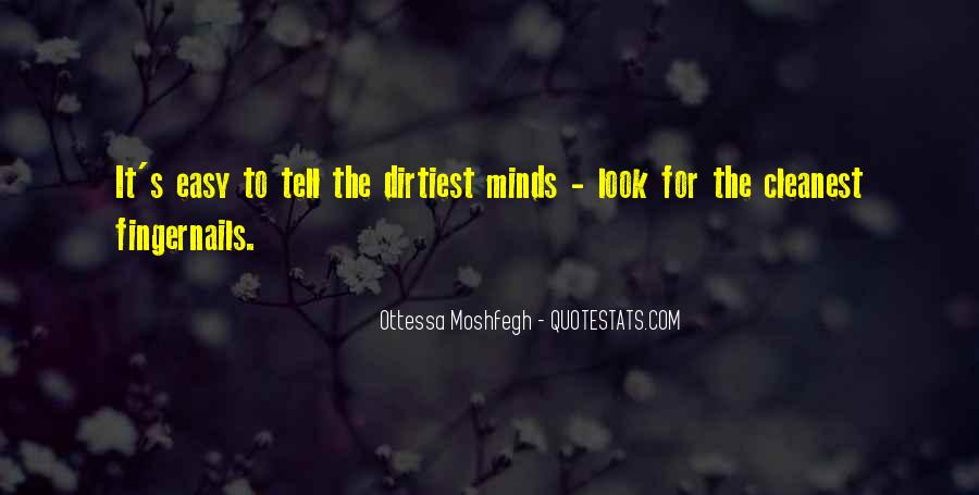 Ottessa Moshfegh Quotes #41744