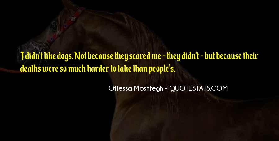 Ottessa Moshfegh Quotes #484592