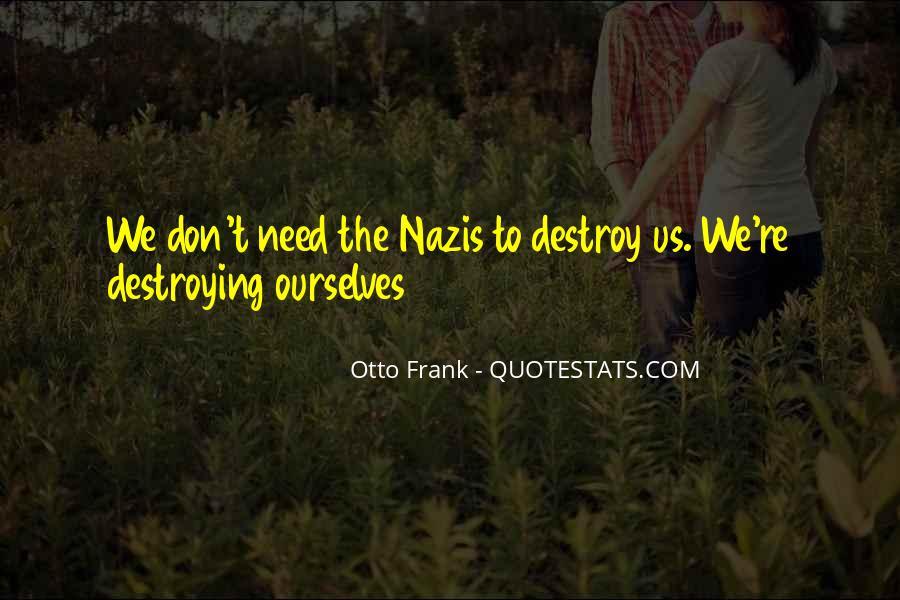 Otto Frank Quotes #625433