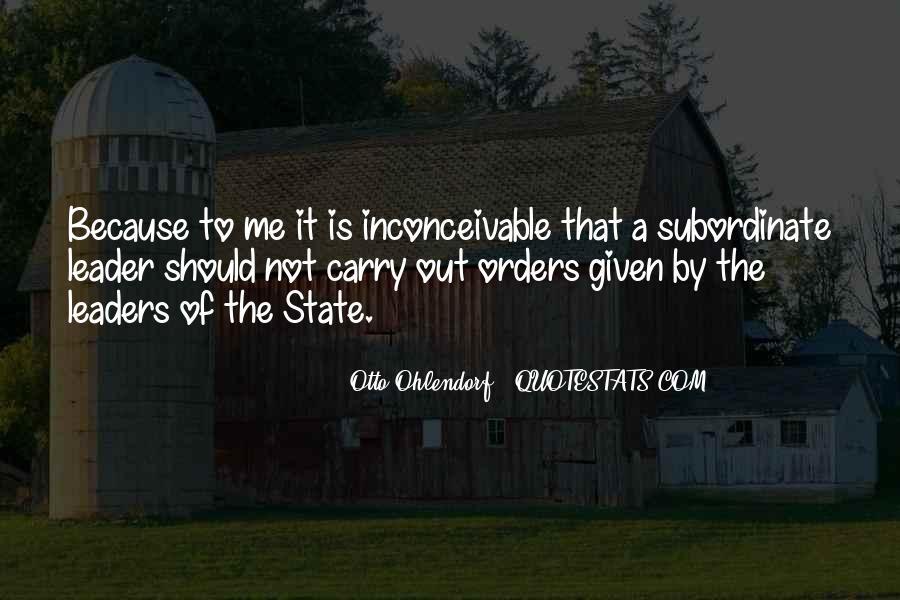Otto Ohlendorf Quotes #1319792