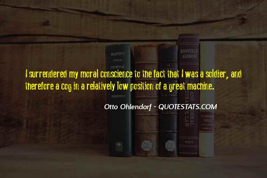 Otto Ohlendorf Quotes #954565