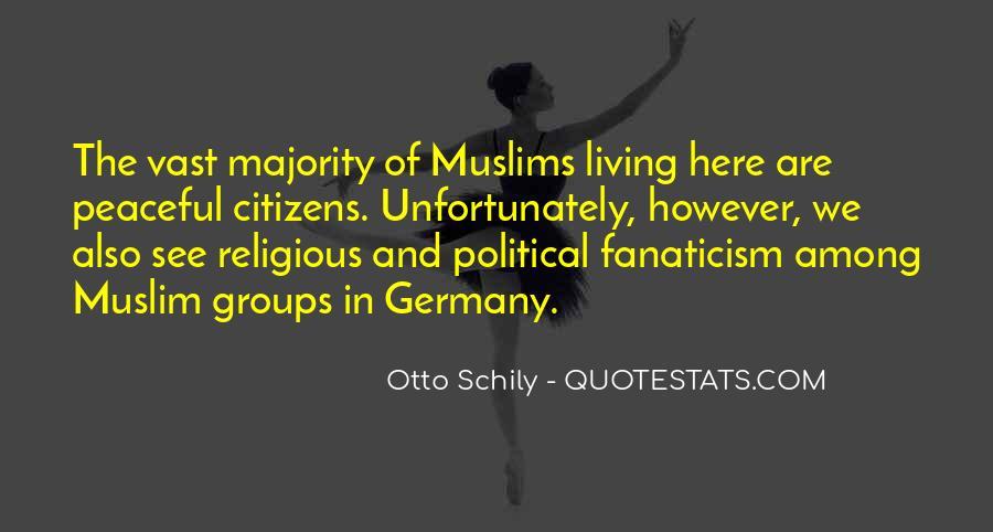 Otto Schily Quotes #1179098